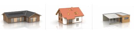 Dřevostavby na klíč - bungalovy, patrové domy, mobilní domy