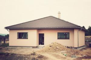 Dřevostavba na klíč - Pasivní dům Žebrák - reference