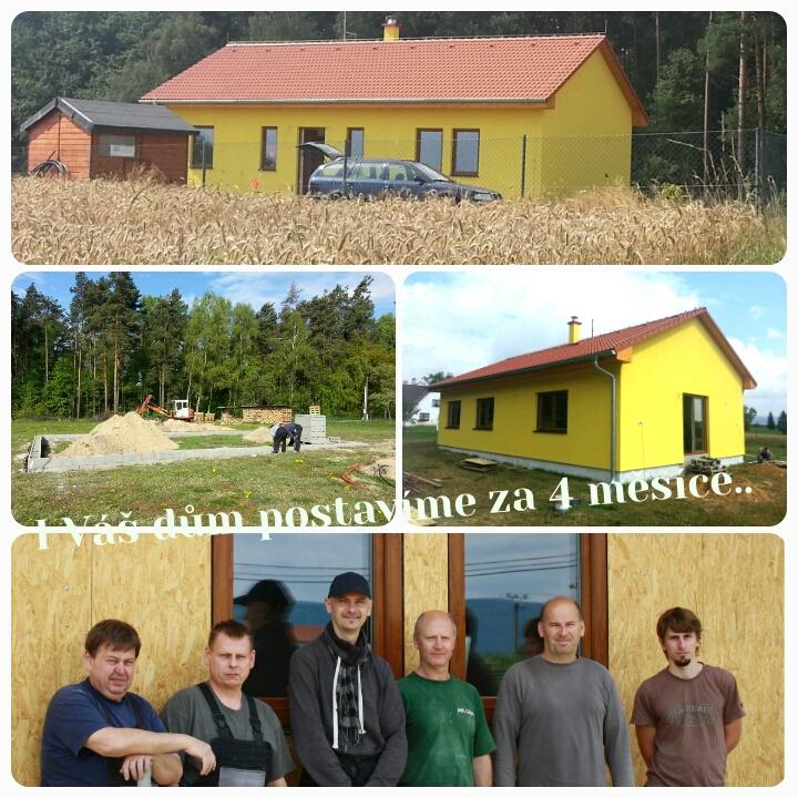 Rodinné domy bungalovy dřevostavby na klíč