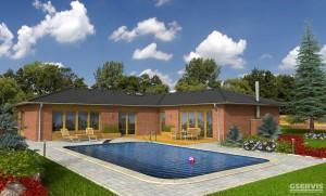Fotografie domu Generace Plus, který stavíme levně jako dřevostavbu na klíč